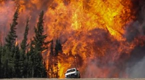 Canada's Out Of Control Fire Doubles In Size