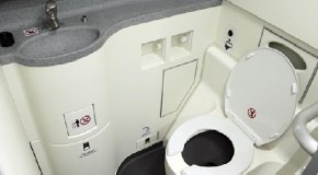 What Actually Happens When You Flush an Airplane Toilet