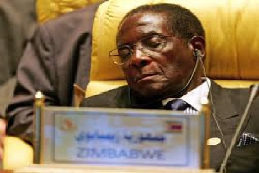 Zimbabwe President Robert Mugabe to Sleep while Trump deliver his Speech in UN