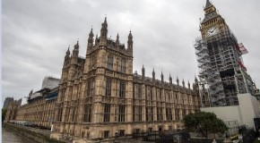 Big Ben repair work gathers pace: Almost entirely covered in scaffolding