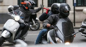 Gang of moped thieves jailed for 18 years who carried out 16 day rampage across London to targeted 100 victims