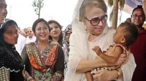 Khaleda Zia distributed relief to Rohingya camp: Urges Myanmar to return Rohingya people