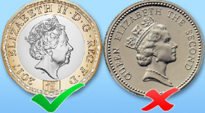 Most of shops to ignore deadline to stop accepting old £1 coins