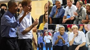 Prince Harry with Meghan and Barack Obama rekindle bromance at Invictus Games