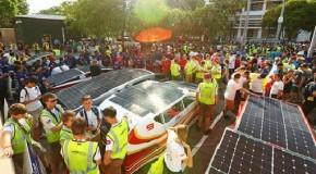 Solar cars begin race across Australian desert