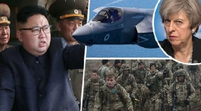 UK prepares for war with North Korea