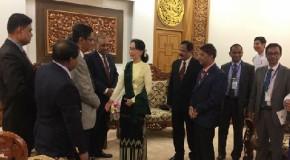 Suu Kyi accepts home minister's invitation to visit Bangladesh