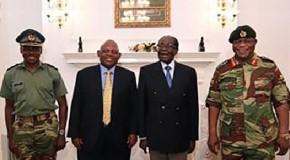 Zimbabwe military says progress in talks for Mugabe's exit