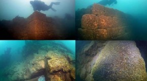 Three thousand year old castle discovered under the lake