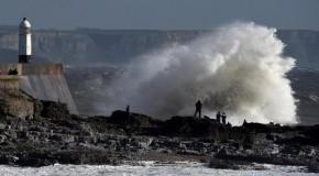 Danger to life as Caroline hits UK