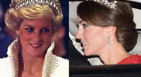 Kate Middleton sparkles in Princess Diana's favourite tiara
