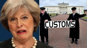 Theresa May fails to strike border deal with Irish government